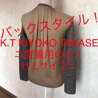 COMME CA DU MODE - ★K.T KIYOKO TAKASE/キヨコタカセ★大きいサイズ!ニットソー11