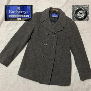 BURBERRY BLUE LABEL - Burberrys ブルーレーベル ピーコート ヴィンテージ