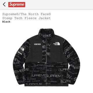 Supreme - Supreme North Face Steep Tech フリース黒 Sサイズ