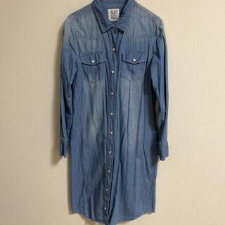 PROPORTION BODY DRESSING - BLAN CHIC ブランシック デニムワンピース デニムシャツ