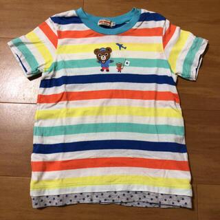 mikihouse - ミキハウス プッチー ボーダー Tシャツ 半袖 110