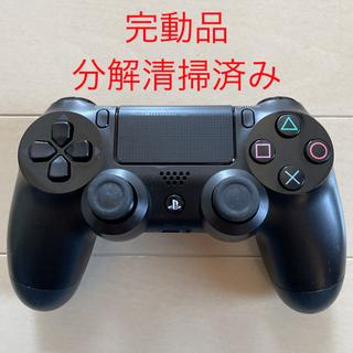 PlayStation4 - 完動品 SONY PS4 純正 コントローラー DUALSHOCK4 ブラック