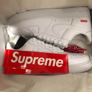 Supreme - Supreme × Nike AF1 ホワイト 28.0cm US10