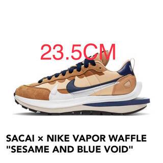NIKE - 23.5cm SACAI × NIKE VAPOR WAFFLE SESAME
