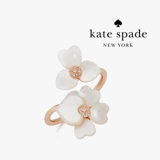 kate spade new york - 【新品♠本物】ケイトスペード プレシャスパンジー リング