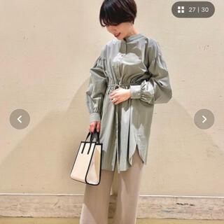 LOWRYS FARM - ☆新品タグ付き☆ ローリーズファーム チュニックシャツ