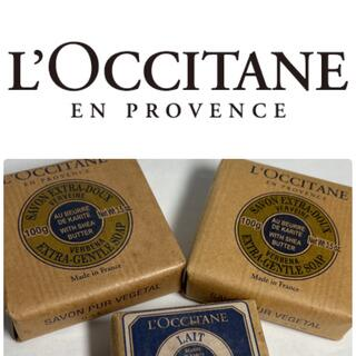 ロクシタン(L'OCCITANE)のロクシタン シア ソープ ヴァーベナ 100g×2個/(化粧石けん)ミルク(ボディソープ/石鹸)
