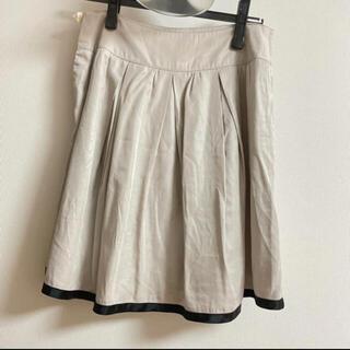 NATURAL BEAUTY BASIC フレアスカート(ひざ丈スカート)