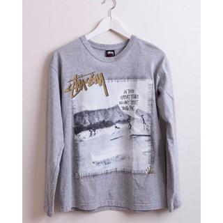 ステューシー(STUSSY)のSTUSSY ステューシー グラフィック ロングTシャツ S バックプリントあり(Tシャツ/カットソー(七分/長袖))