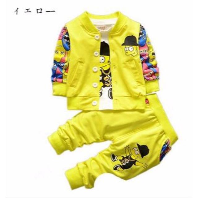 韓国子供服セットアップ3点セット サイズXL キッズ/ベビー/マタニティのキッズ服 女の子用(90cm~)(その他)の商品写真
