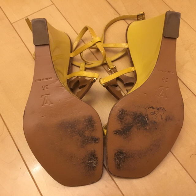LOUIS VUITTON(ルイヴィトン)のルイヴィトンウエッジサンダル36 レディースの靴/シューズ(サンダル)の商品写真