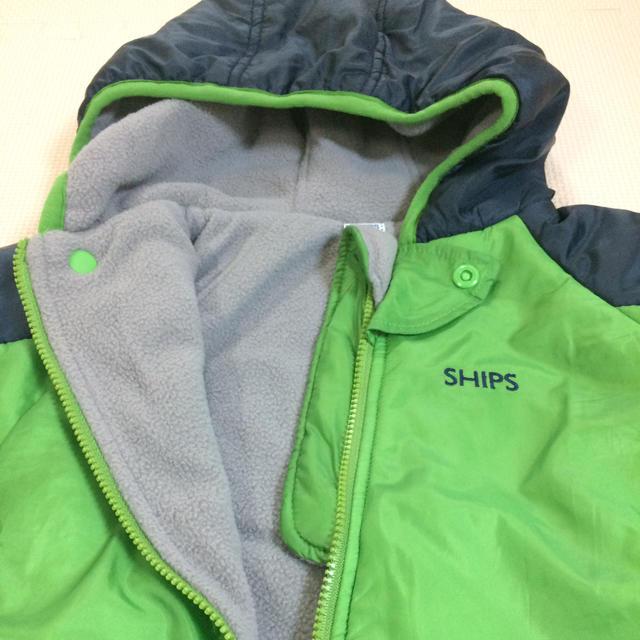 320f8fd85f556 SHIPS KIDS - SHIPS ベビー防寒用カバーオールの通販 by ☆ポテちゃん ...