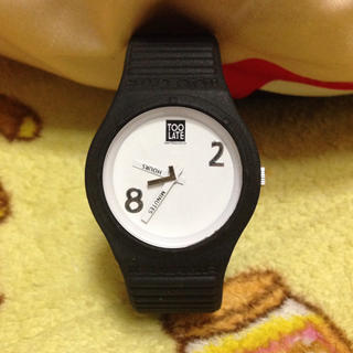 トゥレイト(TOO LATE)のTOO LATE♡腕時計(腕時計(アナログ))