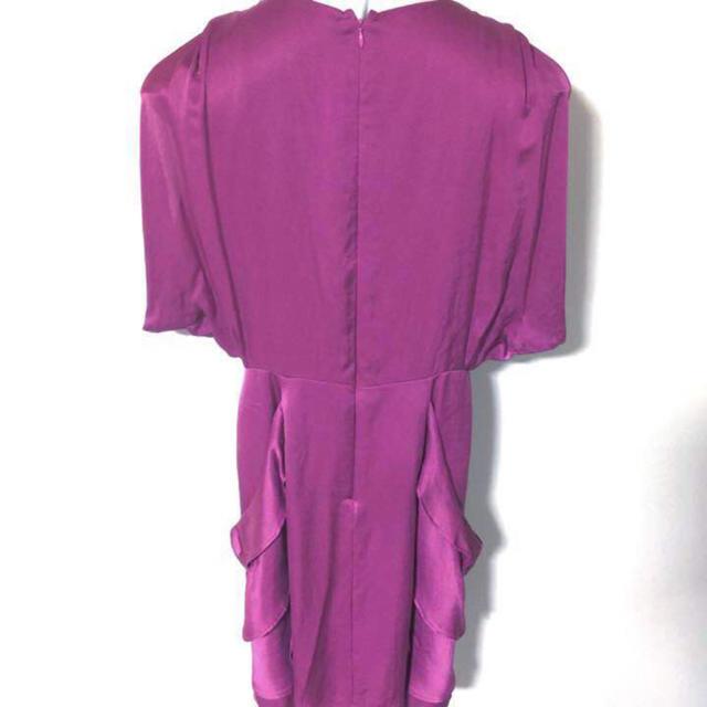 LASUD ドレス ワンピース 結婚式や二次会に パーティードレス レディースのフォーマル/ドレス(