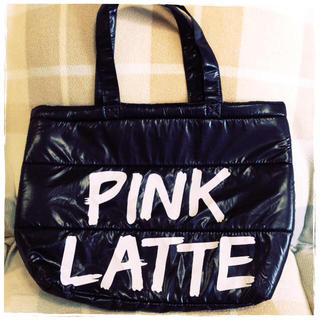 ピンクラテ(PINK-latte)のPINK LATTE * 大きめトート(トートバッグ)