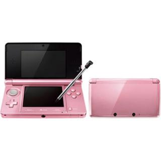 ニンテンドウ(任天堂)の3DS ピンク(携帯用ゲーム本体)
