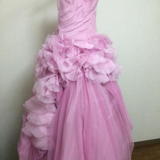 ヴェラウォン(Vera Wang)のピンクヘイリー(ロングドレス)
