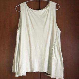 ドゥロワー(Drawer)のdrawer ドゥロワー 二重フレア カットソー(Tシャツ(半袖/袖なし))