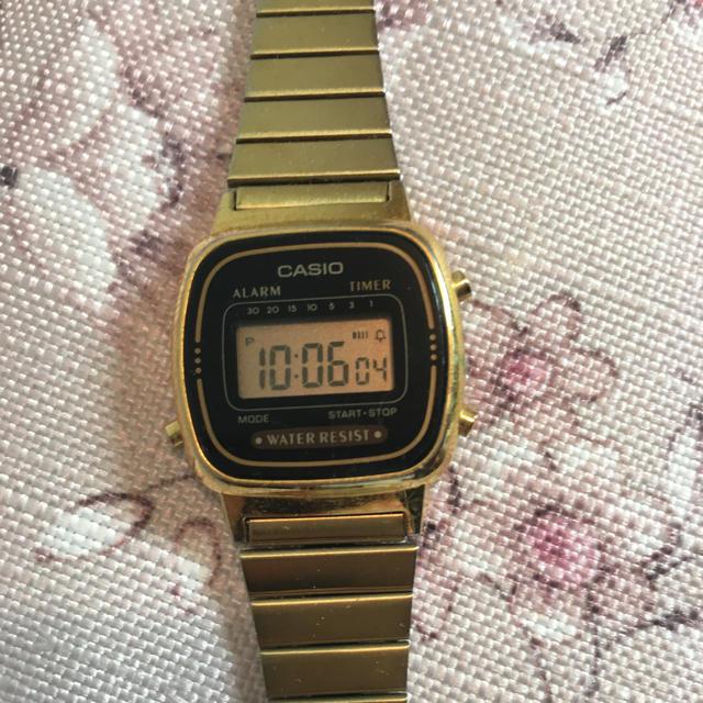 CASIO(カシオ)のCASIO 腕時計 レディースのファッション小物(腕時計)の商品写真