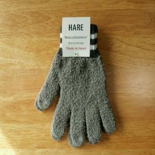 ハレ(HARE)の新品 日本製 HARE スマホ対応ニット手袋(手袋)