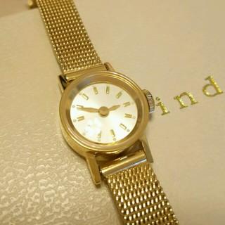 アッシュペーフランス(H.P.FRANCE)のinduna*ゴールド腕時計(腕時計)