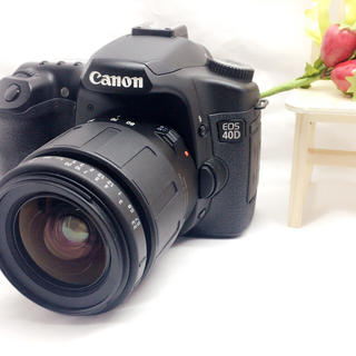 キヤノン(Canon)のちぃまる様 お取り置き専用⭐︎Canon 40D⭐︎初心者にもオススメ⭐︎(デジタル一眼)