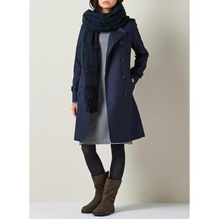 無印良品、ステンカラーコートの丈詰めを!
