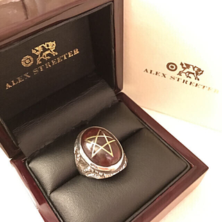 アレックスストリーター 限定 エンジェルハートリング 魔女 黒魔術 ゴシック(リング(指輪))