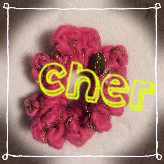 Cher(シェル)のcher★付録シュシュ レディースのヘアアクセサリー(ヘアゴム/シュシュ)の商品写真