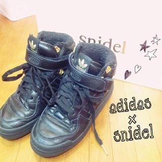 スナイデル(snidel)のsnidel✖adidas スニーカー♡(スニーカー)
