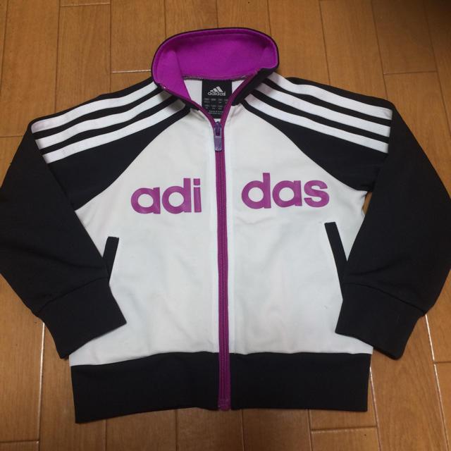 adidas(アディダス)のadidas  キッズ 100 キッズ/ベビー/マタニティのキッズ服 女の子用(90cm~)(ジャケット/上着)の商品写真