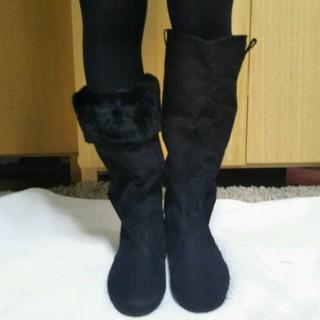 ムジルシリョウヒン(MUJI (無印良品))の無印良品たタタメル折返しブーツ(ブーツ)
