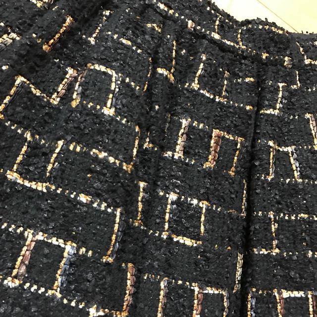 Chesty(チェスティ)のChesty LINTON社ツィードスカート レディースのスカート(ひざ丈スカート)の商品写真
