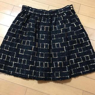 チェスティ(Chesty)のChesty LINTON社ツィードスカート(ひざ丈スカート)
