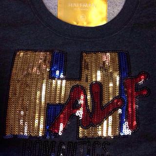 ハーフマン(HALFMAN)のスウェットTシャツ(Tシャツ(半袖/袖なし))