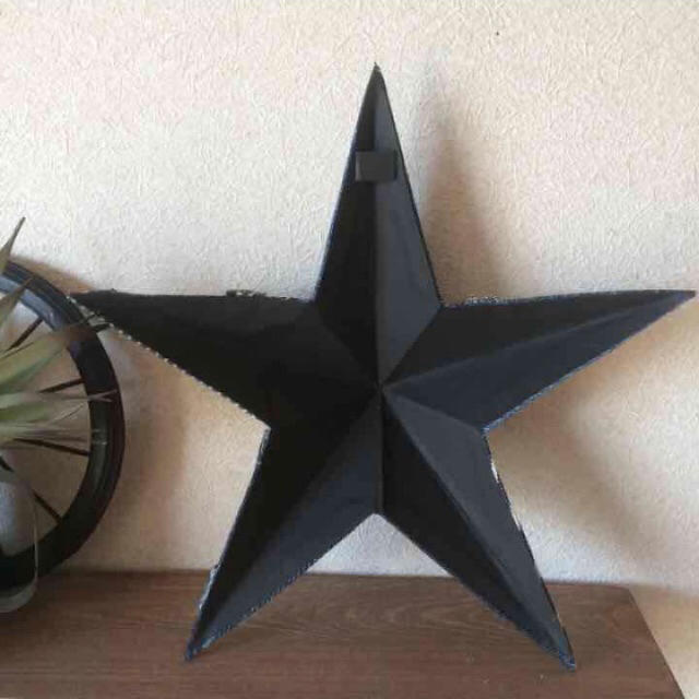 デニムバーンスター(Mサイズ) ハンドメイドのインテリア/家具(インテリア雑貨)の商品写真