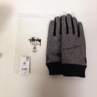 ステューシー(STUSSY)の新品 未使用 stussy レザー 手袋 グローブ (手袋)