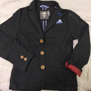 エイチアンドエム(H&M)のH&Mキッズ  ジャケット  128  チーフ 子供服(ジャケット/上着)