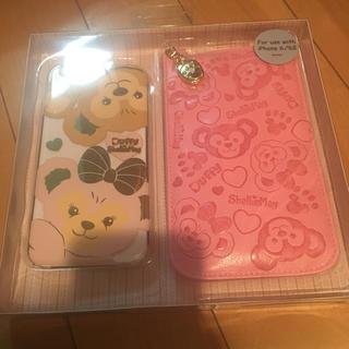香港 ディズニー ダッフィー iPhoneケース(キャラクターグッズ)