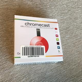 クローム(CHROME)の新品 未開封 Google Chromecast コーラル(PC周辺機器)
