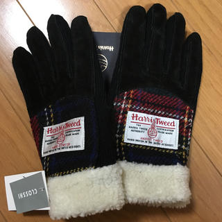 シマムラ(しまむら)のハリスツイード✖️しまむら 手袋(手袋)