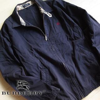バーバリー(BURBERRY)の美品 大きめS バーバリーロンドン メンズジャケット ネイビー(その他)