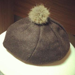 アースミュージックアンドエコロジー(earth music & ecology)のearthのベレー帽*(ハンチング/ベレー帽)