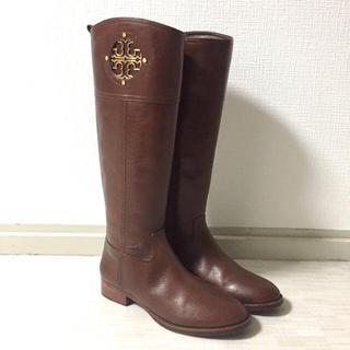 トリーバーチ(Tory Burch)のお値下げ⭐︎トリーバーチ ジョッキーブーツ ロングブーツ 8.5M(ブーツ)