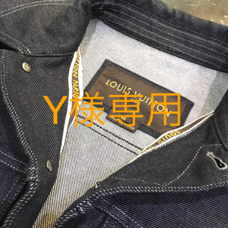 ルイヴィトン(LOUIS VUITTON)のY様専用!【超美品】ルイ・ヴィトン Gジャン 46(Gジャン/デニムジャケット)