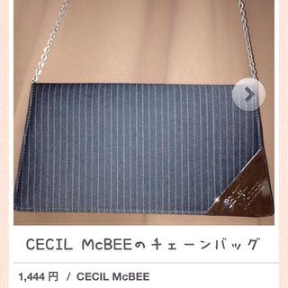 セシルマクビー(CECIL McBEE)のCECIL McBEEチェーンバッグ(クラッチバッグ)