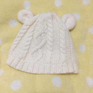 ベビーギャップ(babyGAP)のお値下げ♡GAP くま耳ニット帽(帽子)