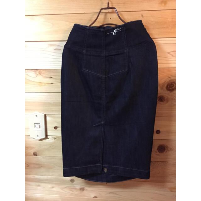 earnest sewn(アーネストソーン)のアーネストソーン/デニムスカート レディースのスカート(ひざ丈スカート)の商品写真
