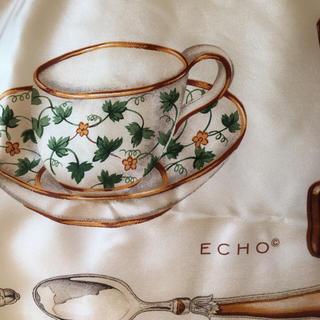 エコー(ECHO)のECHOのシルクスカーフ(バンダナ/スカーフ)