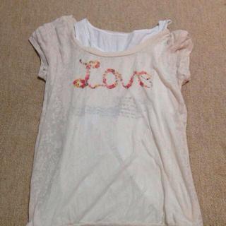 ミスティウーマン(mysty woman)の値下げ!mysty womanのTシャツ(Tシャツ(半袖/袖なし))